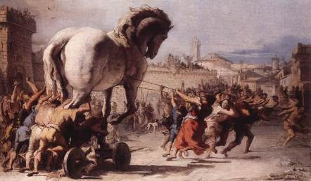 Giovanni_Domenico_Tiepolo_-_The_Procession_of_the_Trojan_Horse